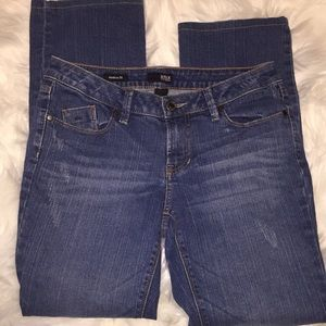 a.n.a. modern fit slightly distressed jeans.Size 6